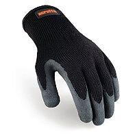 Scruffs Utility Gloves Black/Grey One Size Close Fitting