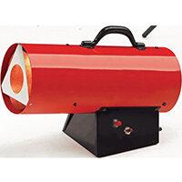 Propane Gas Fired Heater 35000 BTU Output Per Hr