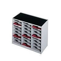 24 Compartment Module Grey & Charcoal