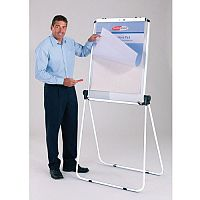Ultimate Double-Sided Flipchart Easel And Whiteboard White