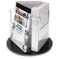 Revolving Literature Holder Pocket Size DL 1/3 A4