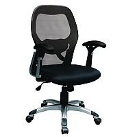 Auckland Mesh Back Heavy Duty Operators Chair With Fixed Arms