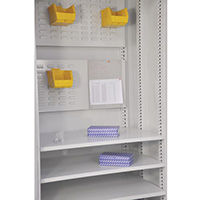 Multi-Storage Cupboard Accessory Louvre Panel