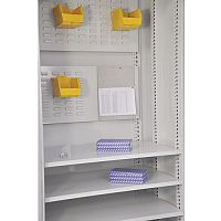 Multi-Storage Cupboard Accessory Dual Tool/Louvre Panel