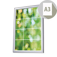 Premium Wall Mounted Poster Snapframe A3