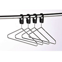 Heavy Duty Chrome Captive Hook Hangers Pack of 25