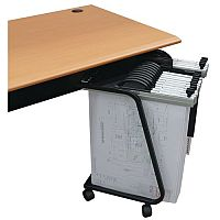 Mobile Plan Filing Trolley For 15 Binders Or 2250 A2 Sheets