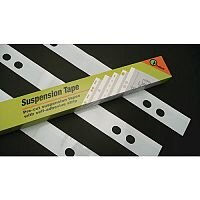Suspension Tape A0 4 Hole Self Adhesive Plan Strips Pack of 100