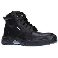 Dickies Newark Boots Black Steel Toe-Cap Boots