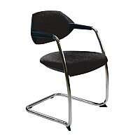 Flex Conference & Vistors Cantilever Chair Charcoal