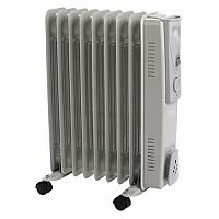 Oil Filled Radiator 2000W - Over Heat Protection, Various Heat Settings & Cable Management. Ideal for Any Home, Office & More!