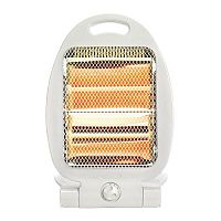Portable Quartz Heater With Fold Out Stand & Carry Handle - Ideal For Homes, Offices & More!