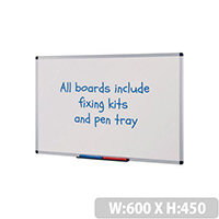 Budget Whiteboard HxW 600x450mm