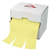 Sorbent Dispenser Boxes Roll Chemical Absorption Capacity 50L WxL 320x320mm