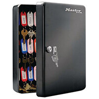 Masterlock Key Box 50 Key Capacity Black Pack 1