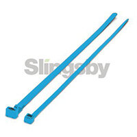 Standard Coloured Nylon Cable Ties Blue WxL 3.6x140mm