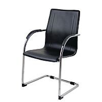Aston Cantilever Leather Effect Visitors Chair
