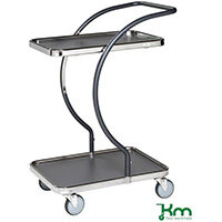 Allround Table Trolley With Two Shelves