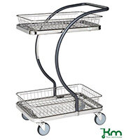Allround Table Trolley With Two Trays