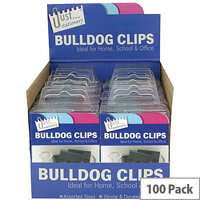 Tallon Bulldog Clips in Counter Display Unit 9194
