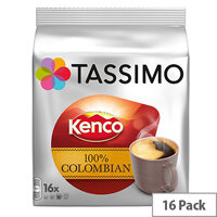 Tassimo T-Discs Kenco Columbian (Pack of 16 Capsules) - Makes 16 Drinks