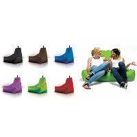 Teardrop-Shaped Beanbag Chairs