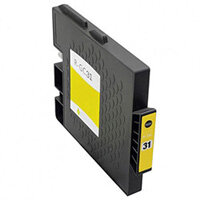 Compatible Ricoh GC31Y Inkjet Cartridge 405691 Yellow 1920 Page Yield