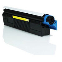 Compatible OKI 42127405 Yellow Laser Toner 5000 Page Yield