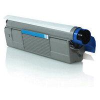 Compatible OKI 43865723 Cyan Laser Toner 6000 Page Yield