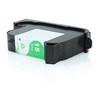 Compatible HP 15 Inkjet Cartridge C6615DE Black 600 Page Yield