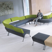 UPDOWN Modular Soft Seating Range