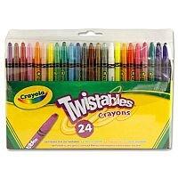 Crayola Twistables 144 Crayons 24 Pack x 6