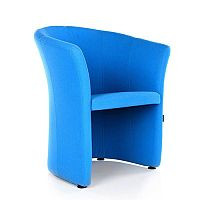 VIZZ Tub Reception Chair Sky Blue Fabric