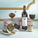 The Wine & Cheese Gift Crate