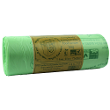 80L Completely Compostable Bin Bags Pack Of 240 Sacks. Ideal For Use In Commercial Kitchens, Can Also Be Used In Colleges, Offices, Schools & More.