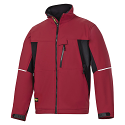 Snickers 1212 Soft Shell Red/Black Jacket