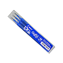 Pilot Blue Frixion Pro Erasable Rollerball Pen Refills Pack of 3 075300303