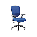 Arista Fusion High Back Mesh Chair With Lock and Tilt Blue