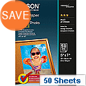 """Epson 5x7"""" Glossy Photo Paper 200gsm (Pack of 50)"""