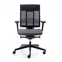 Xenon Swivel Ergonomic Mesh Back Task Operator Office Chair Grey