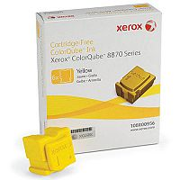 Xerox Colorqube 8870 Ink Stick 17K Yellow Pack of 6 108R00956