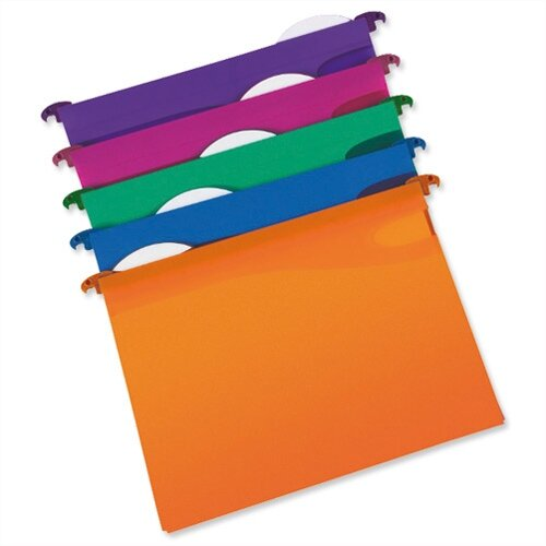 Rexel Multifile Suspension Files Assorted Pack
