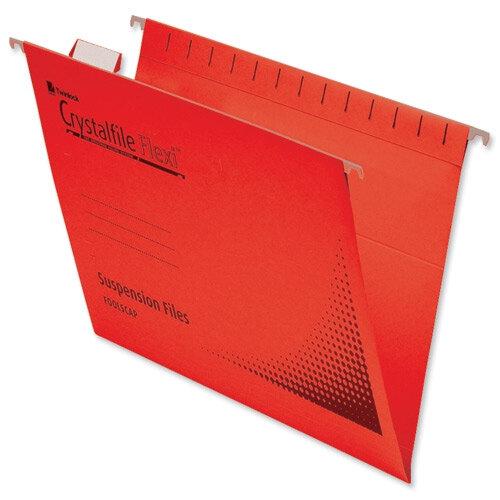 Rexel Crystalfile Flexifile Suspension Files