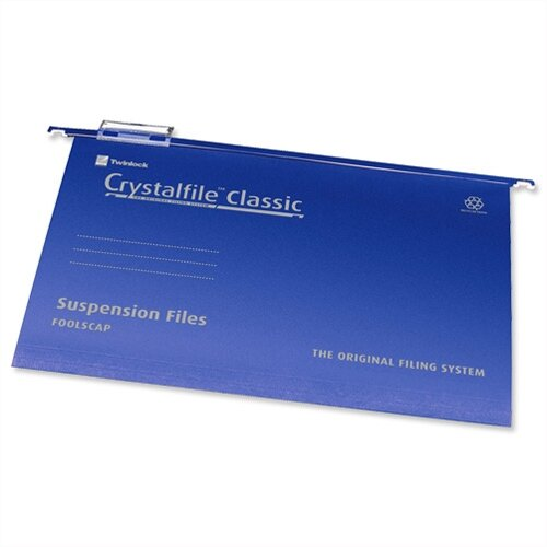 Rexel Crystalfile Classic Suspension Files