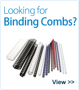 Looking for binding combs?
