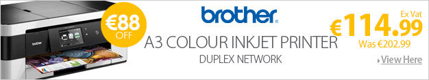 Brother DCP-J4120DW A3 Colour Inkjet All-in-One Duplex Wireless High Yield Inks