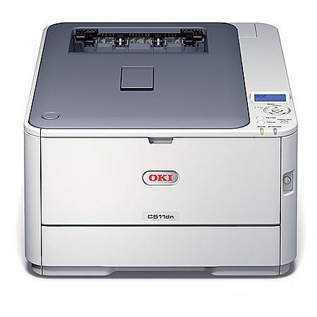 oki c511dn colour laser printer
