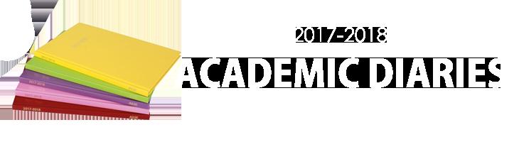 2017-2018 Academic Diaries