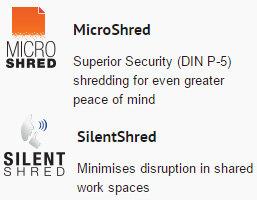 Fellowes Powershred® 450M Micro-Cut Shredder 4074201 features