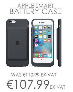 Apple Smart Battery Case Back Cover For Iphone 6 6S Smartphone Charcoal Grey
